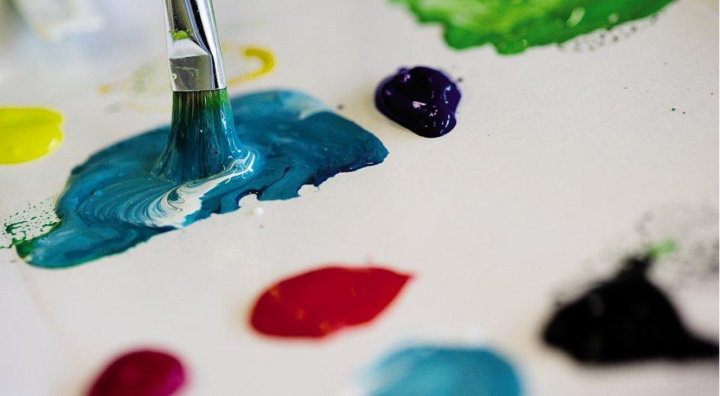 Activités de peinture