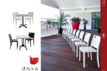 Mobilier Grosfillex pour cafés, hotels et restaurants avec MIGROS PRO