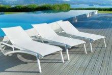 Mobilier piscine Grosfillex pour professionnels avec MIGROS PRO