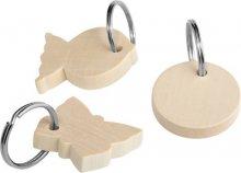 Porte clés en bois à décorer avec MIGROS PRO