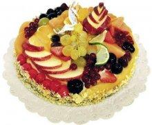 Tourte aux fruits pour fêtes d'entreprise avec MIGROS PRO