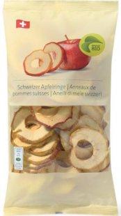 Anneaux de pommes suisses bio avec MIGROS PRO
