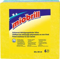 Chiffons de nettoyage polyvalents 6 pièces Miobrill MIGROS
